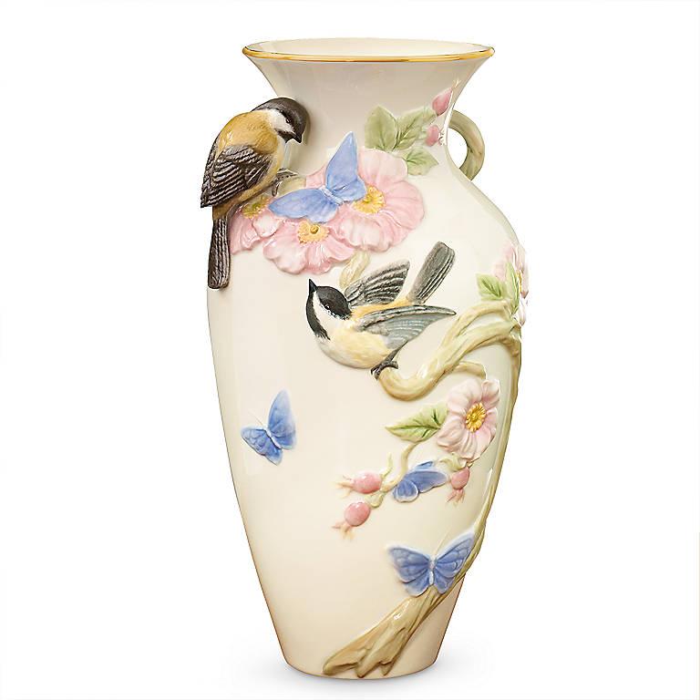 Ivory China Woodland Wonder Vase by Lenox, Home Decorating Vases by Lenox