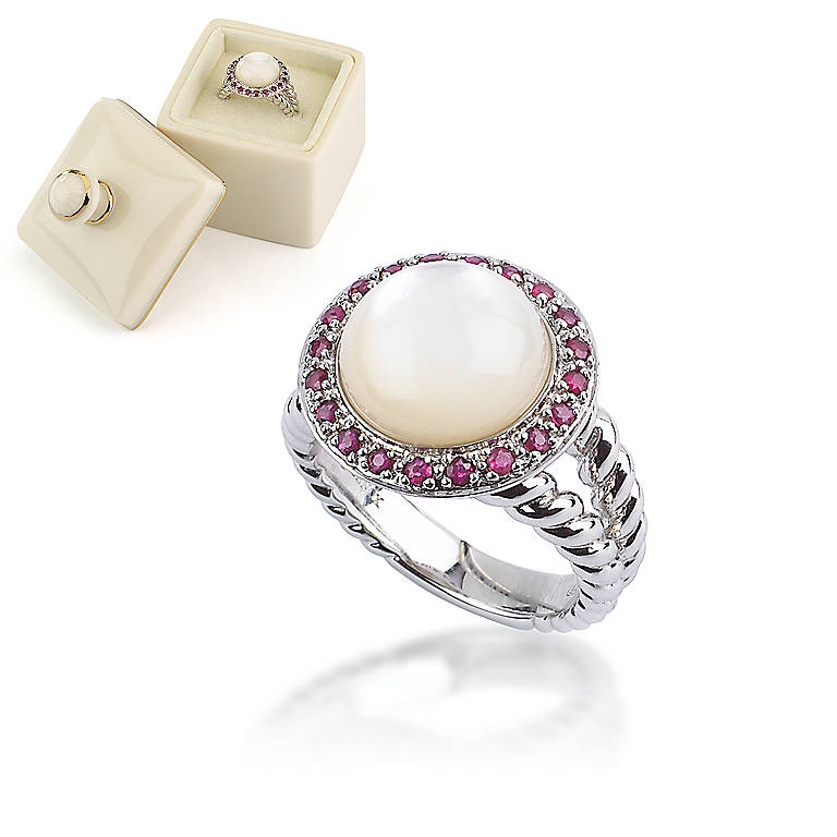 Sterling Silver Pearl of Paradise Ring by Lenox, Costume Jewelry by Lenox