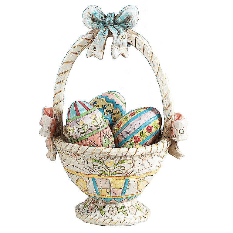 Resin Decorative Easter Basket, Home Decorating Baskets by Lenox
