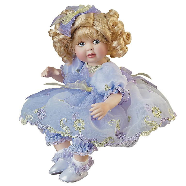 Porcelain Marie Osmond Springtime Splendor Tiny Tot Collector Doll, Dolls by Lenox