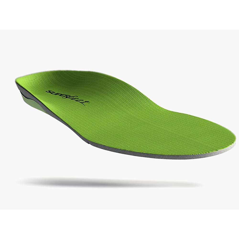 Superfeet Men S Green Insoles Medium To High Arch H 15 5 17