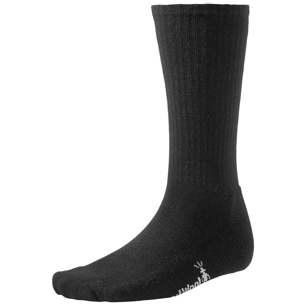 Smartwool Men's Heathered Rib Sock - Medium - Black
