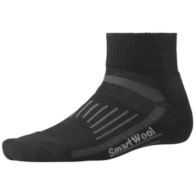 Smartwool Walk Light Mini Crew Sock - Large - Black