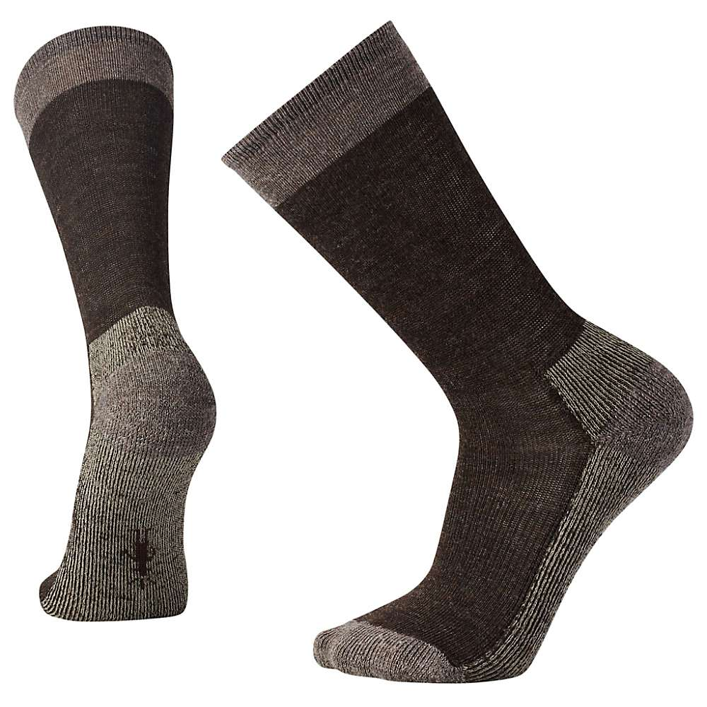 Smartwool Men's Hiker Street Sock - Medium - Chestnut Heather