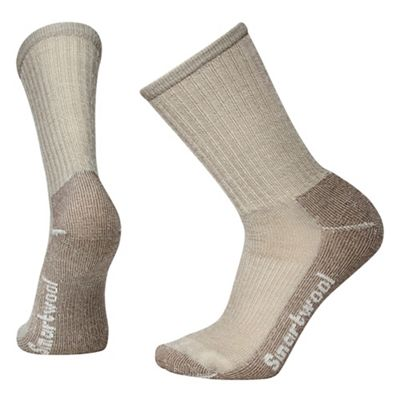 Smartwool Hiking Light Crew Sock - Large - Taupe