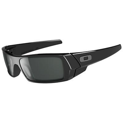 Oakley Gascan Sunglasses - Polished Black / Grey