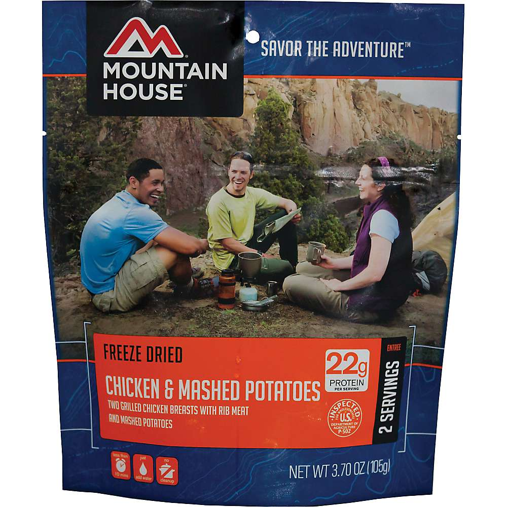 Mountain House Chicken Breast and Mashed Potatoes