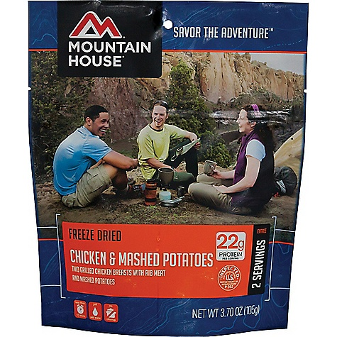 Click here for Mountain House Chicken Breast and Mashed Potatoes prices