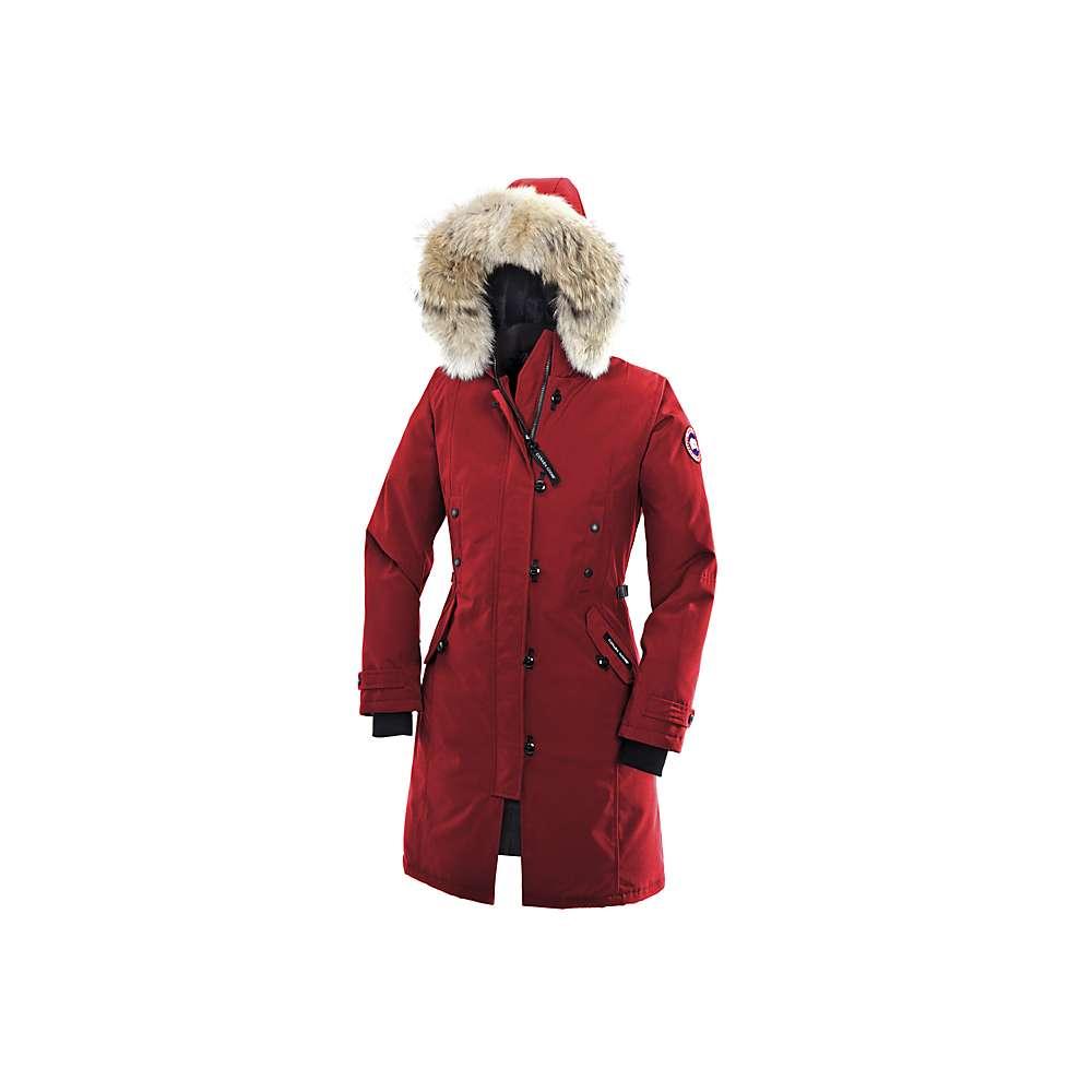 Canada Goose Women's Kensington Parka - Medium - Red