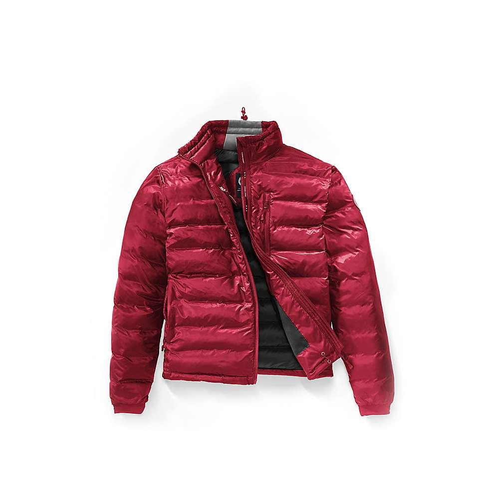 Canada Goose Men's Lodge Jacket - Large - Red / Black