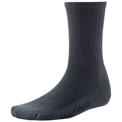 Smartwool Hiking Ultra Light Crew Sock - Large - Charcoal