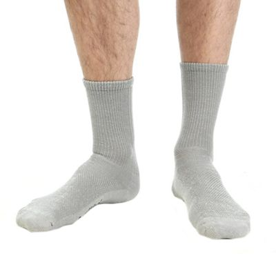 Smartwool Hiking Ultra Light Crew Sock - Medium - Medium Gray