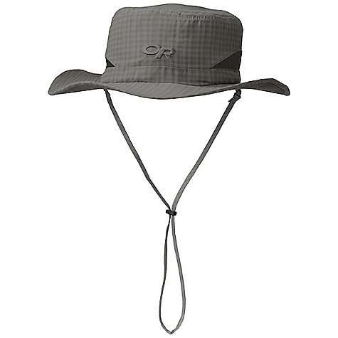 Image of Outdoor Research Men's Sol Sun Hat Pewter Check