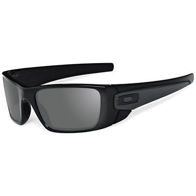 Oakley Fuel Cell Sunglasses - Polished Black / Matte Black / Warm Grey