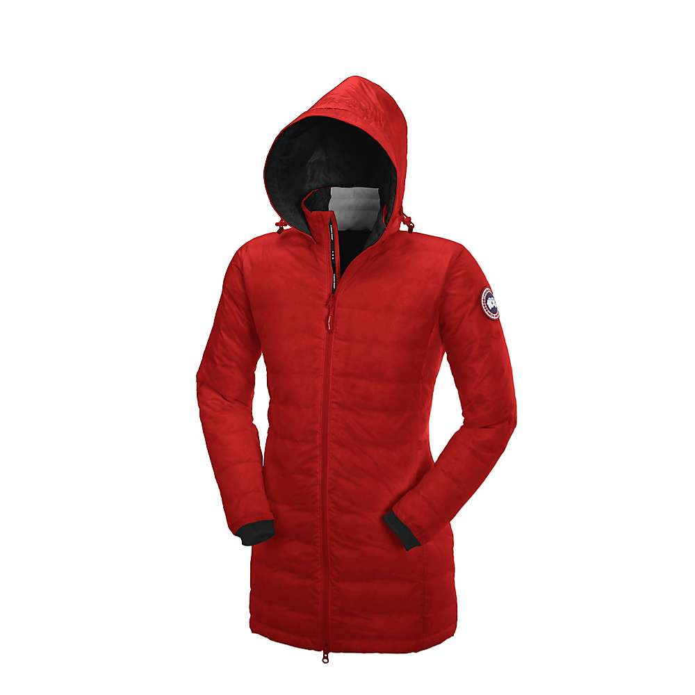 Canada Goose Women's Camp Hooded Jacket - Medium - Red / Black