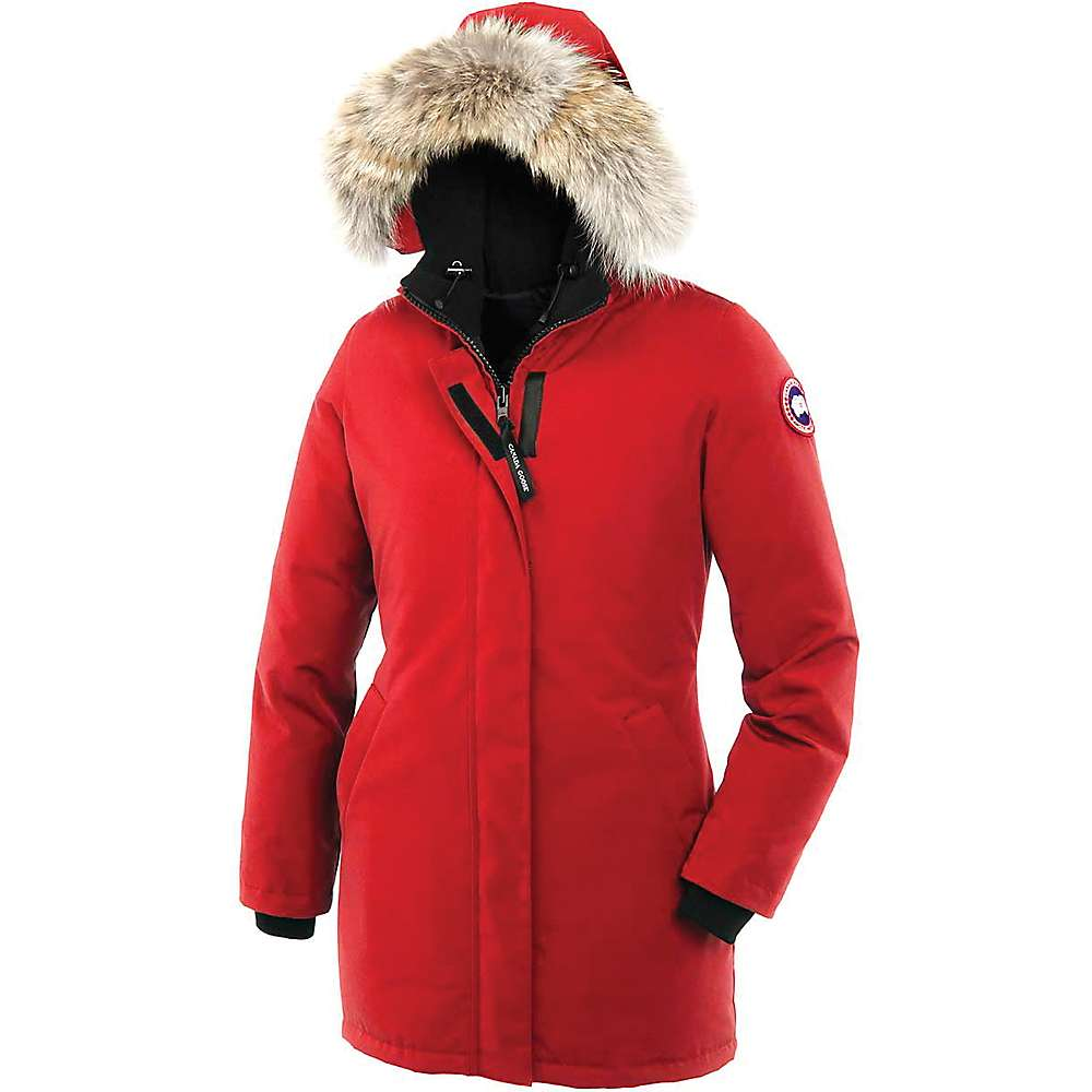 Canada Goose Women's Victoria Parka - Medium - Red