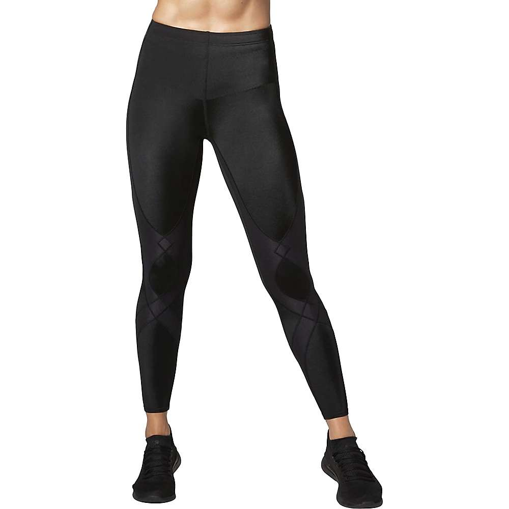 CW-X Women\'s Stabilyx Joint Support Compression Tights - XS - Black
