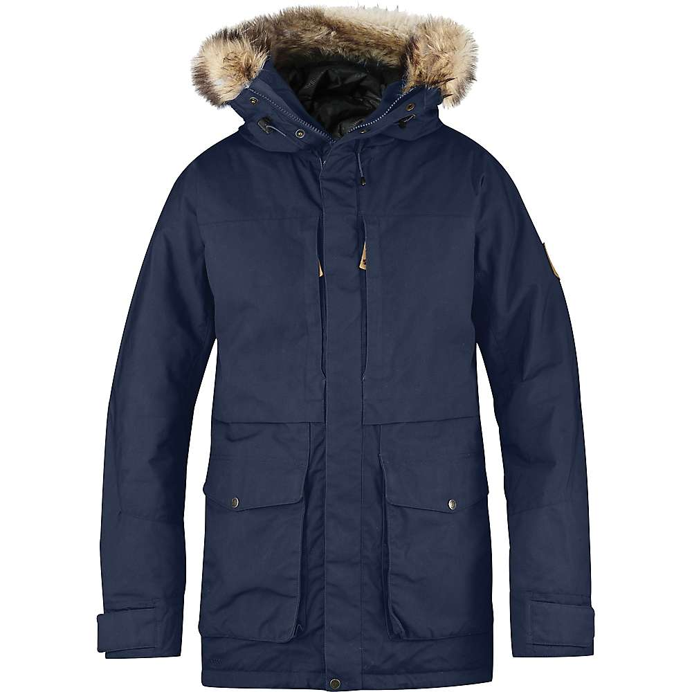 Fjallraven Men's Barents Parka - Medium - Storm