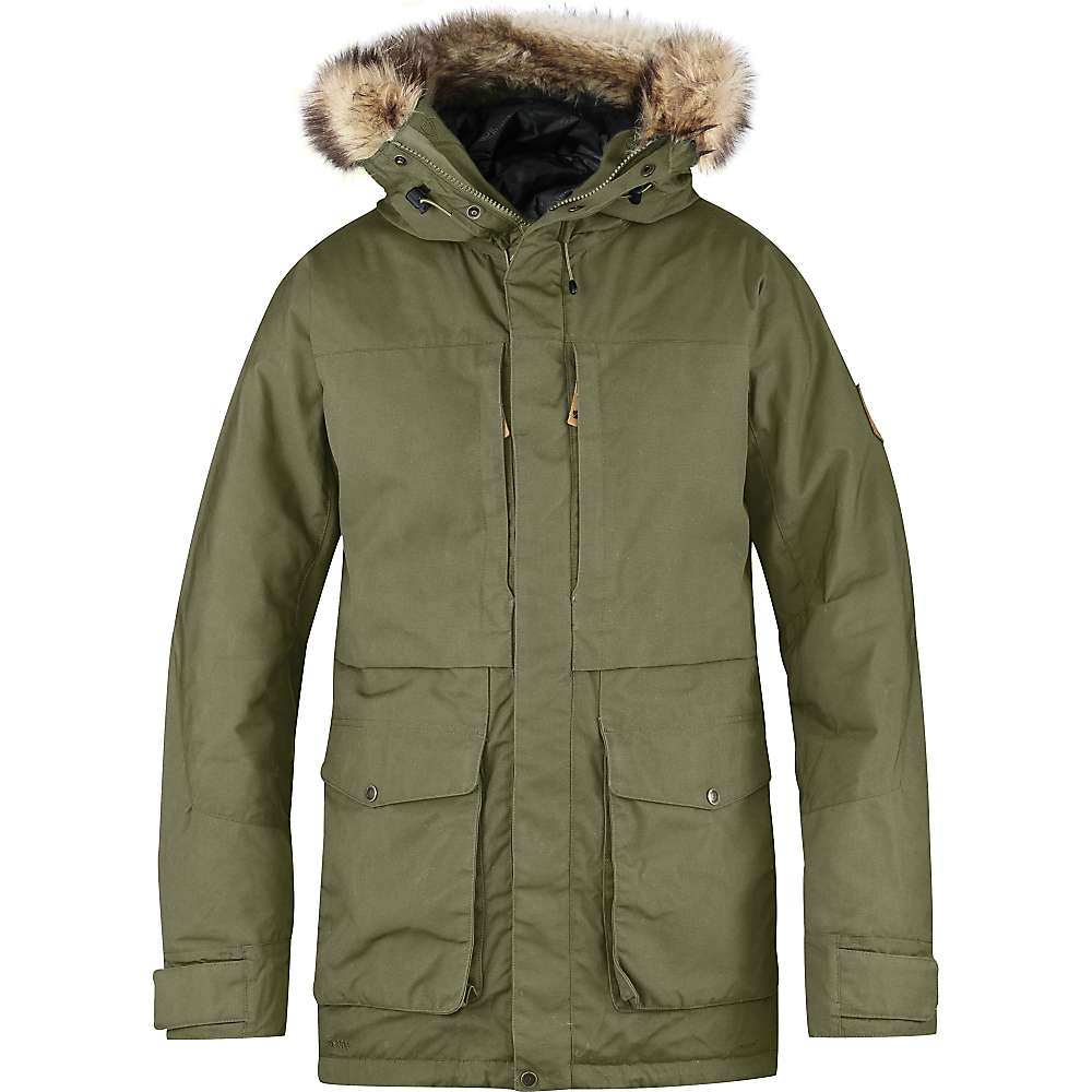 Fjallraven Men's Barents Parka - Medium - Green