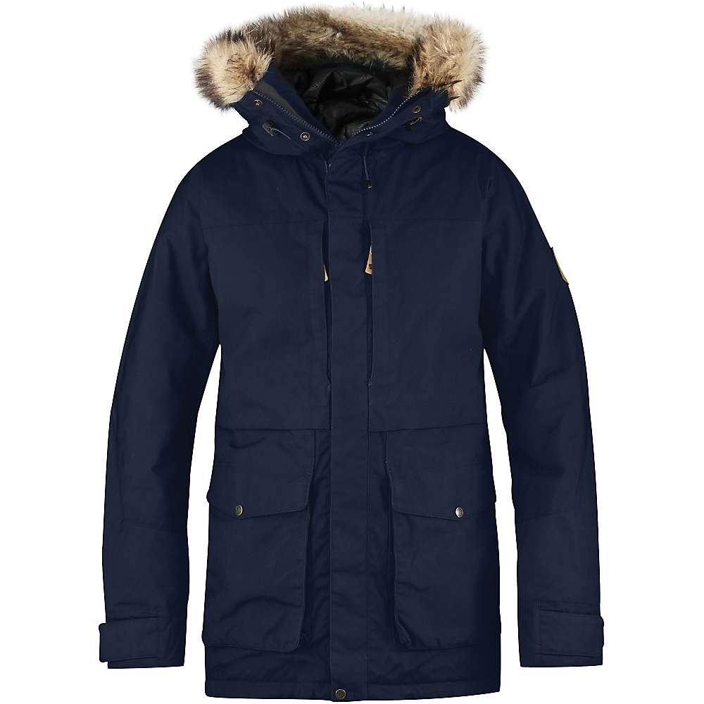 Fjallraven Men's Barents Parka - Medium - Dark Navy
