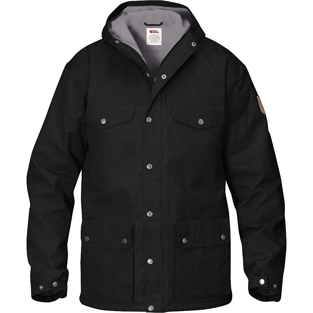 Fjallraven Men's Greenland Winter Jacket - Large - Black / Grey