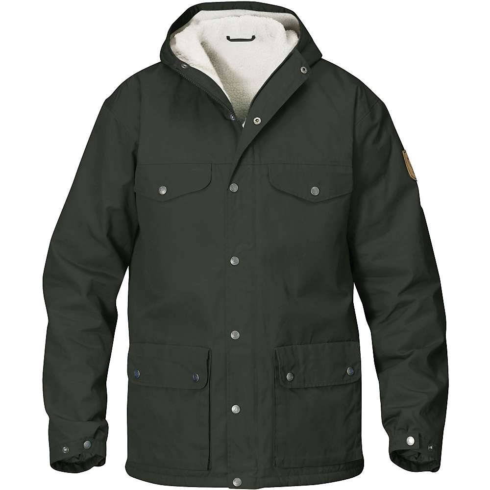 Fjallraven Men's Greenland Winter Jacket - Small - Mountain Grey