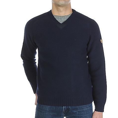 Image of Fjallraven Men's Woods Sweater Dark Navy