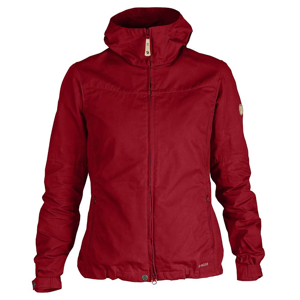 Fjallraven Women's Stina Jacket - Medium - Deep Red