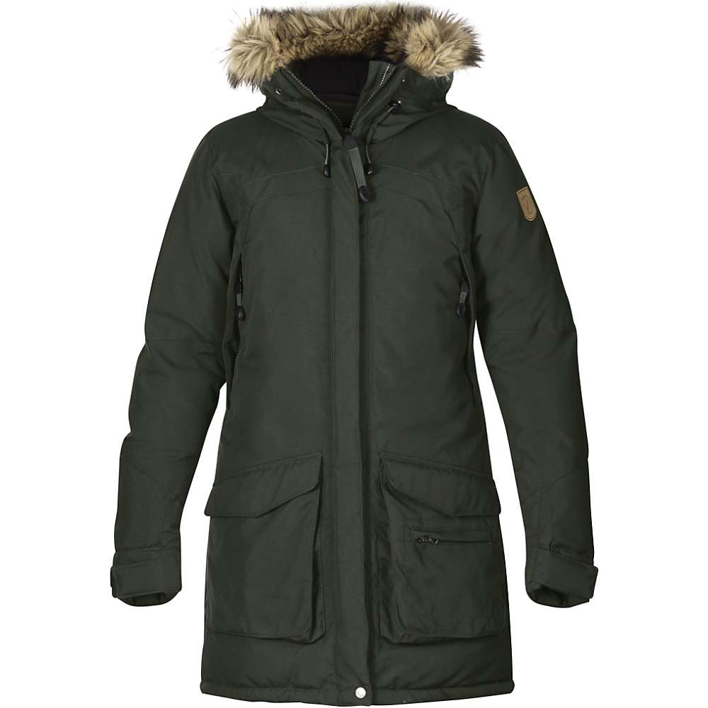 Fjallraven Women's Kyla Parka - XS - Mountain Grey