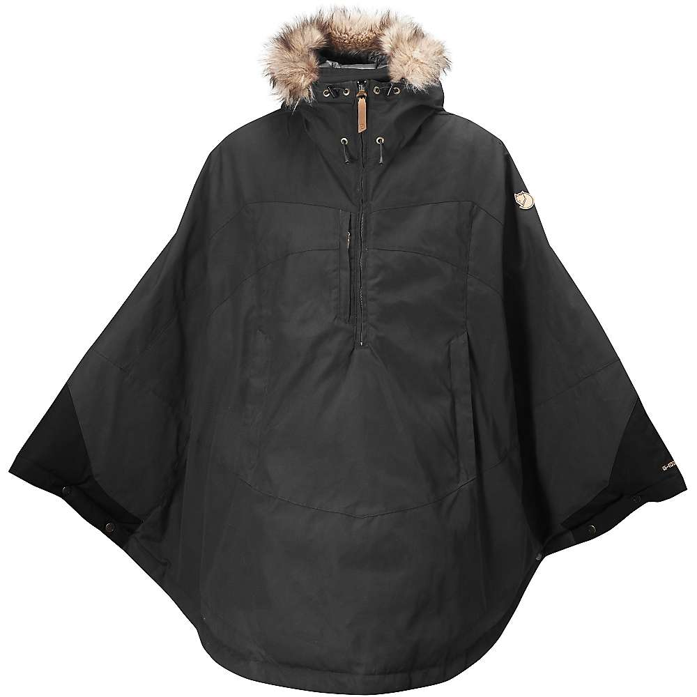 Fjallraven Women's Luhkka Cape - Large - Dark Grey