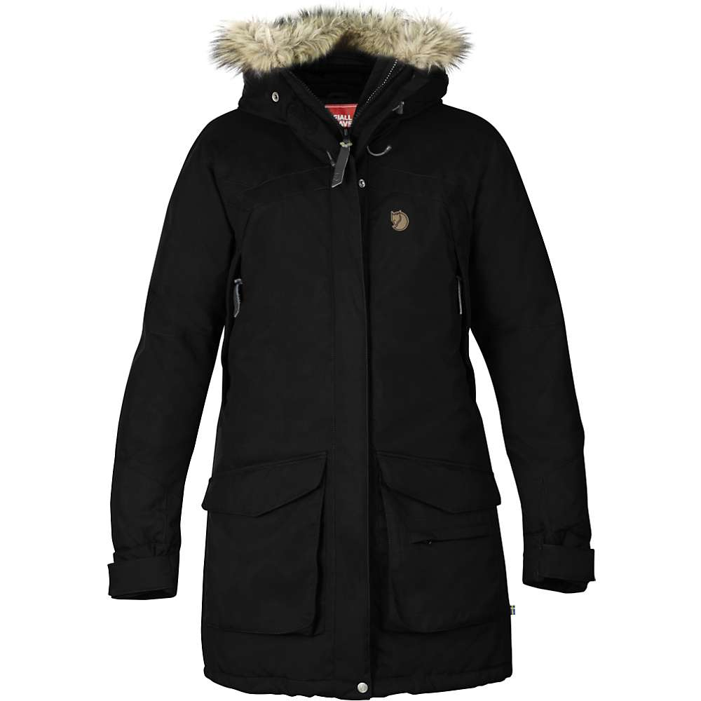 Fjallraven Women's Nuuk Parka - Large - Black F14