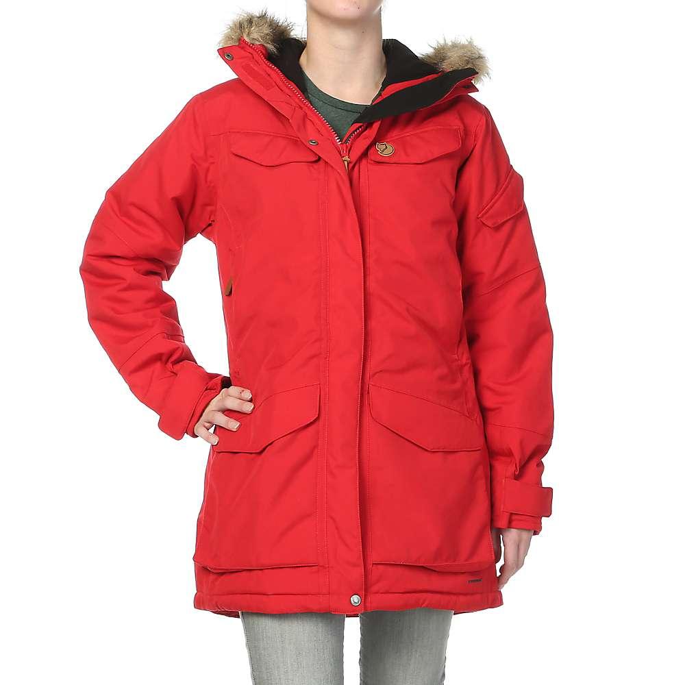 Fjallraven Women's Nuuk Parka - Large - Red F14