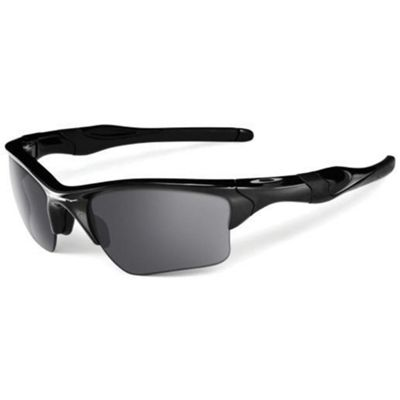 Oakley Half Jacket 2.0 XL Sunglasses - One Size - Polished Black / Black Iridium