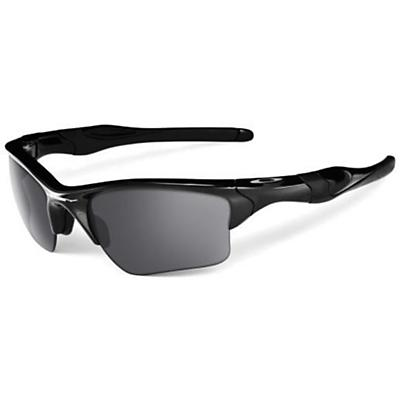 Oakley Half Jacket 2.0 XL Sunglasses - Polished Black / Black Iridium