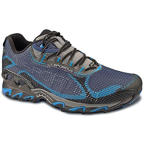 Image of La Sportiva Men's Wildcat 2.0 GTX Shoe Black / Blue