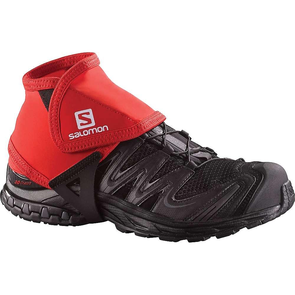 Salomon Trail Gaiters Low - Small - Bright Red