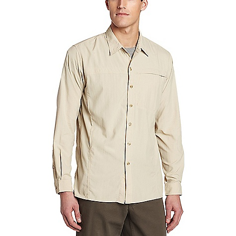 Image of ExOfficio Men's BugsAway Breezer L/S Top Bone