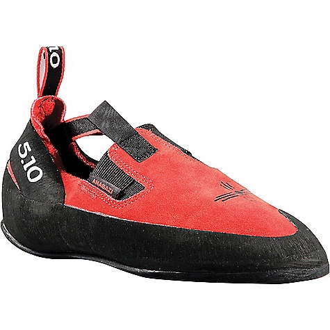 Image of Five Ten Men's Anasazi Moccasym Climbing Shoe Red