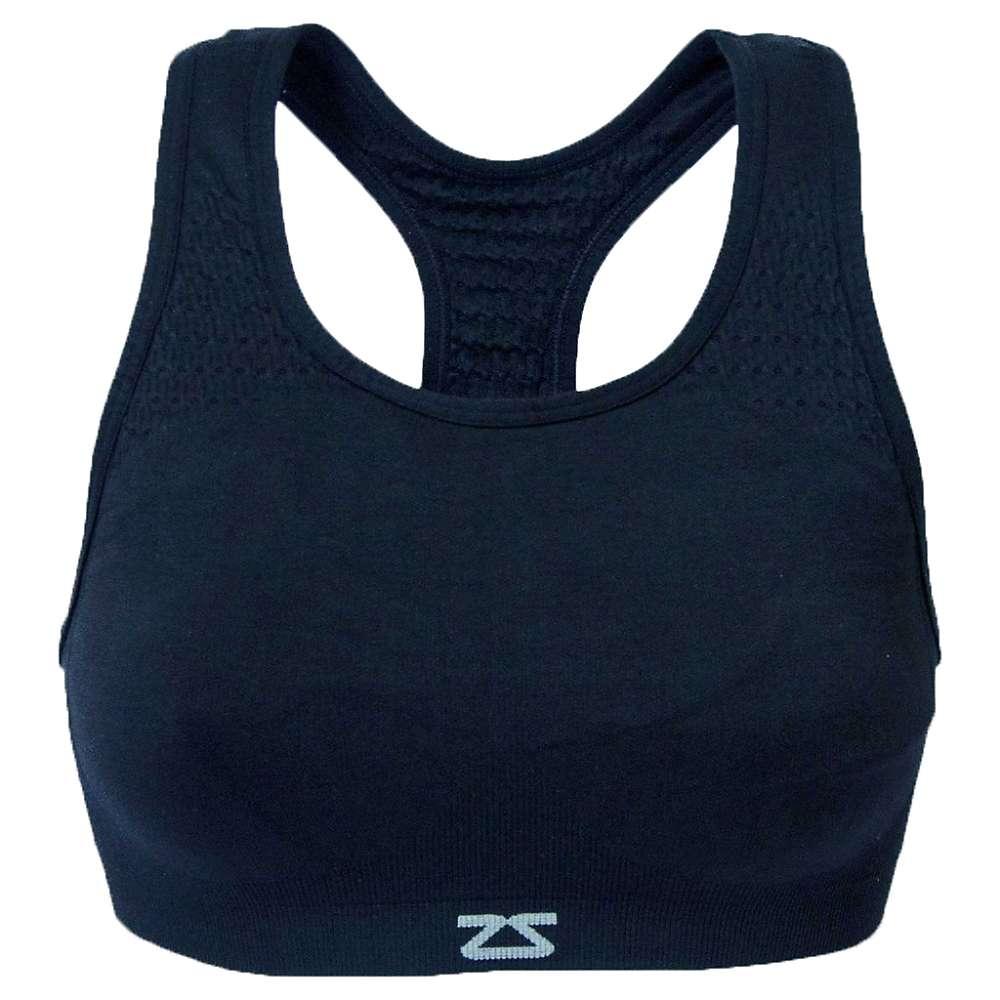 Zensah Women's Seamless Sports Bra - M/L - Navy
