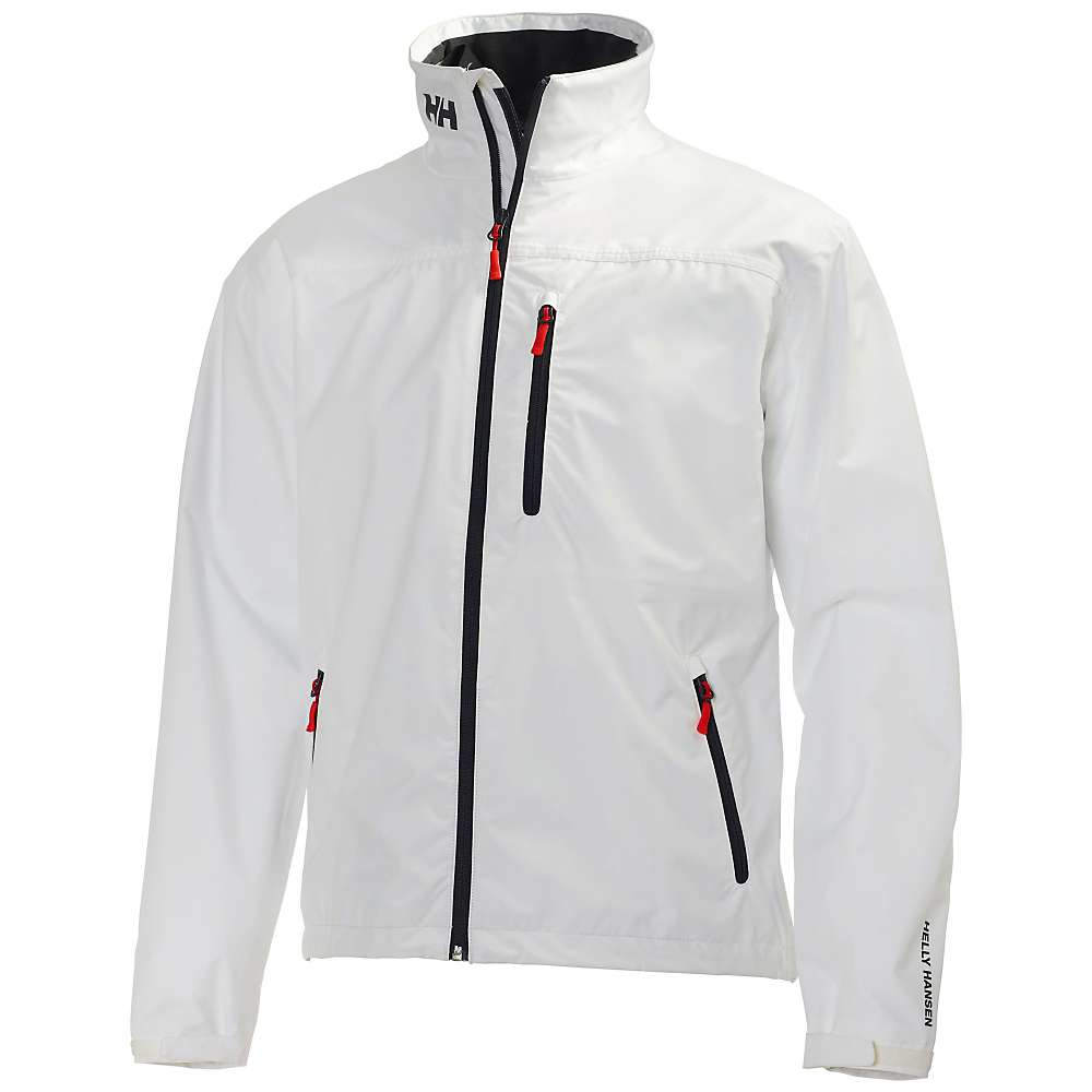 Helly Hansen Men's Crew Jacket - Medium - White