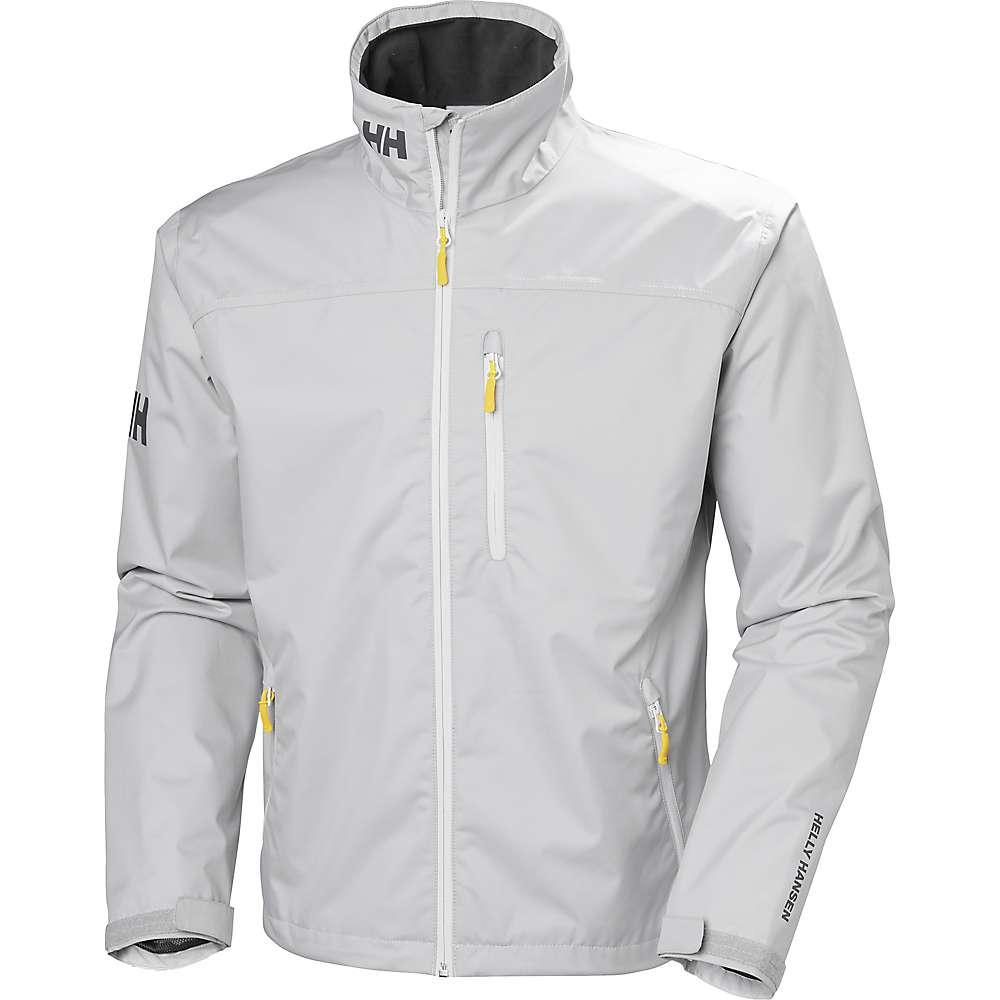Helly Hansen Men's Crew Jacket - Small - Silver Grey