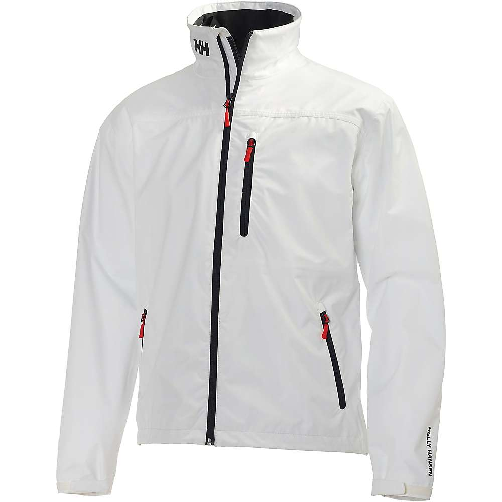 Helly Hansen Men 's Crew Midlayer Jacket - Small - Bright White
