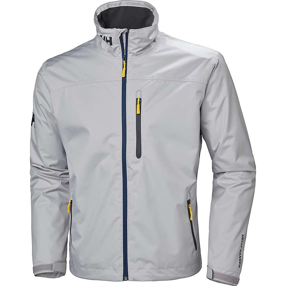 Helly Hansen Men's Crew Midlayer Jacket - Medium - Silver Grey
