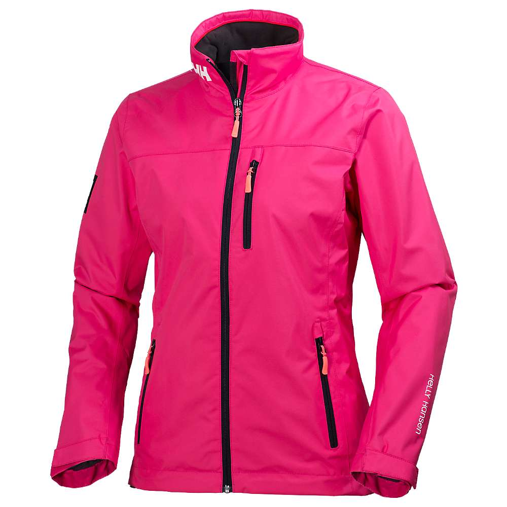 Helly Hansen Women's Crew Midlayer Jacket - Large - Magenta 146