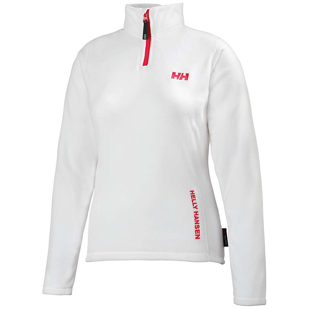 Helly Hansen Women's Daybreaker 1/2 Zip Fleece Top - Small - White