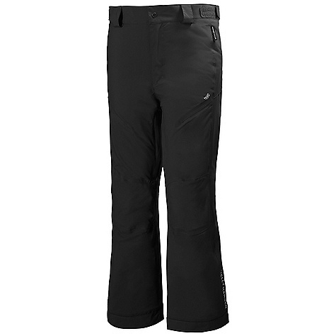 Helly Hansen Juniors' Legend Pant Black Helly Hansen Juniors' Legend Pant - Black - in stock now. FEATURES of the Helly Hansen Juniors' Legend Pant Helly Tech Performance Reservoir hem Mechanical venting zip YKK quality zippers Multiple exterior pockets Belt loops Adjustable waist Boot gaiters Articulated knees Fully insulated PrimaLoft Black Insulation Durable Water Repellency treatment (DWR) Fully seam sealed 2 ply fabric construction Waterproof, windproof and breathable