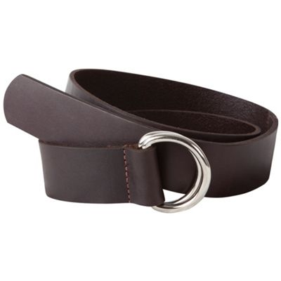Mountain Khakis Leather D-Ring Belt - Small - Brown