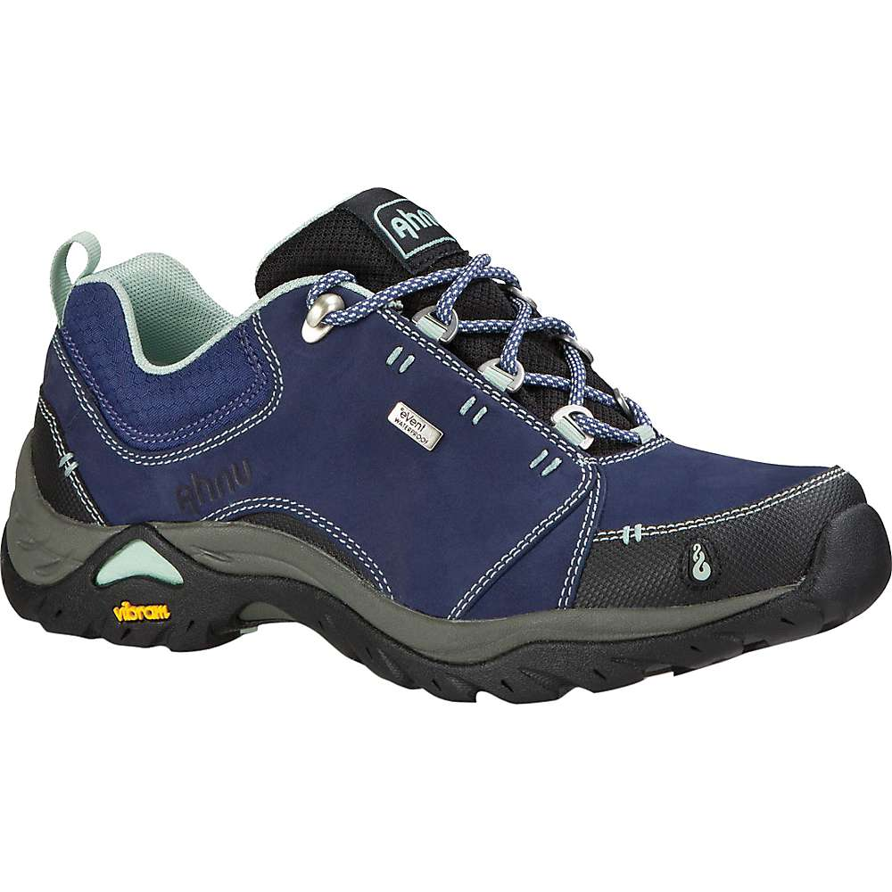 Image of Ahnu Women's Montara II Waterproof Shoe - 5.5 - Midnight Blue