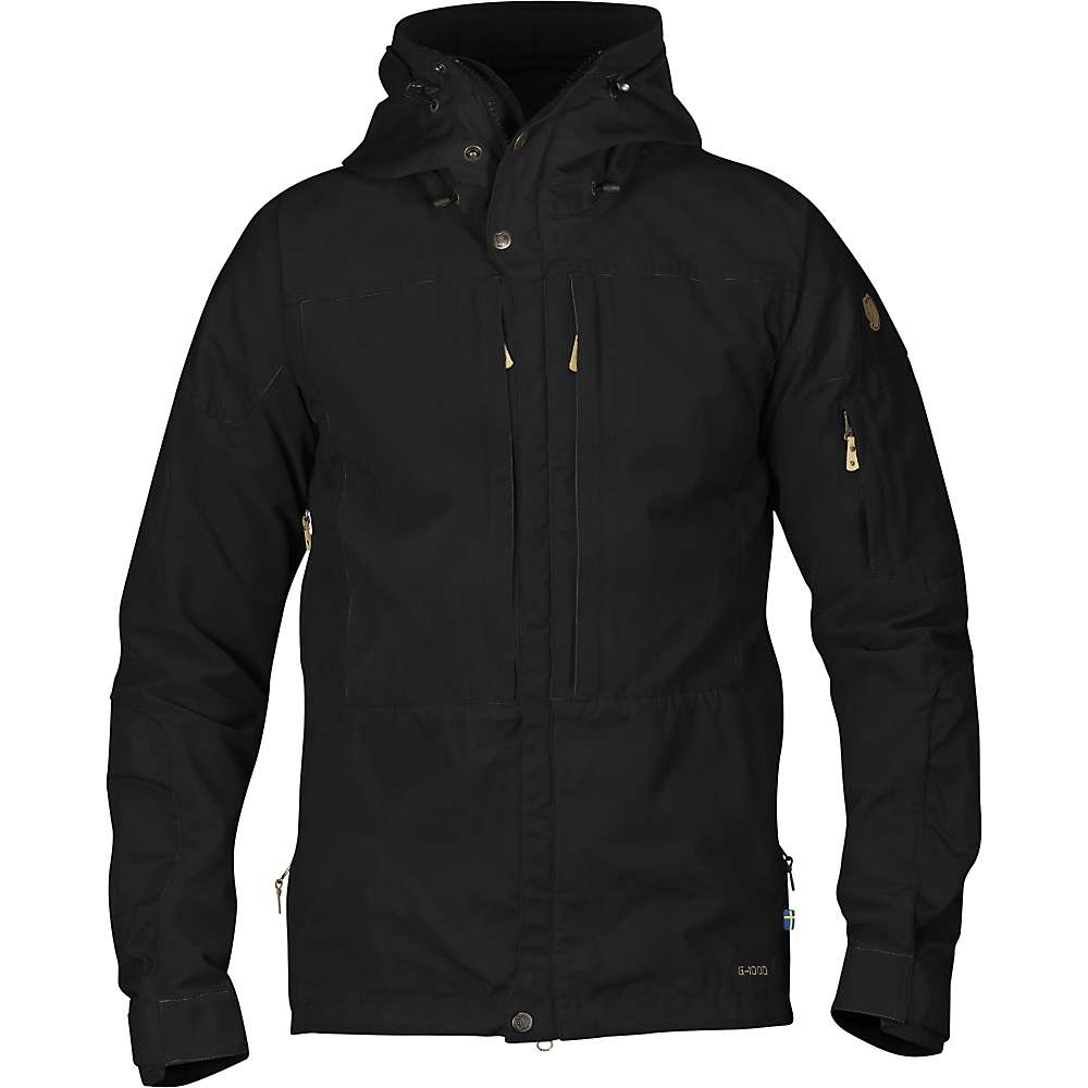 Fjallraven Men's Keb Jacket - XS - Black / Black