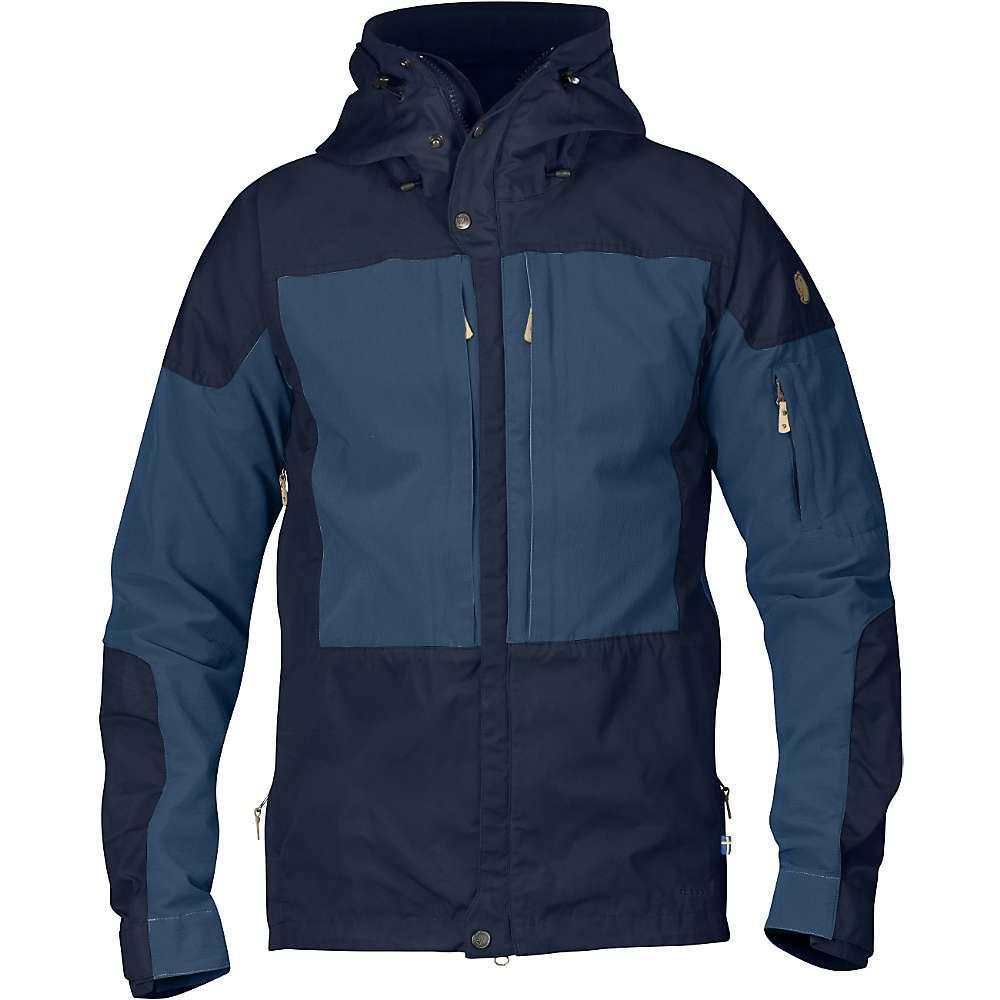 Fjallraven Men's Keb Jacket - Small - Dark Navy / Uncle Blue